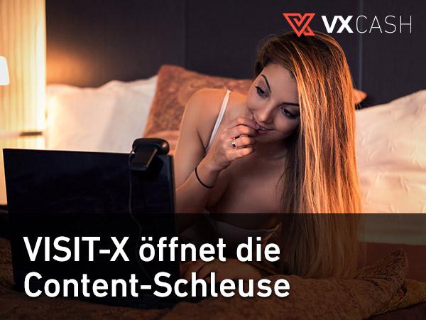 VISIT-X öffnet die Content-Schleuse